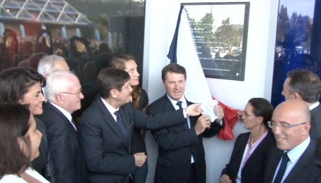 Inauguration du Musée national du Sport