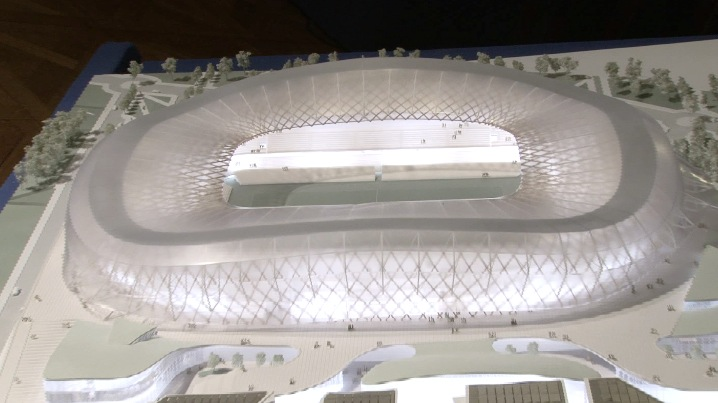 Nice allianz riviera ligue 1 page 70 for Maquette stade bollaert